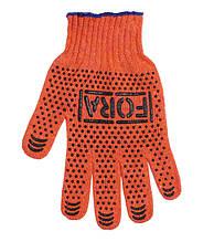 Перчатки DOLONI (15300) Fora робочі помаранчеві с