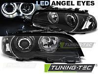 Фары BMW E46 04.99-03.03 COUPE CABRIO ANGEL EYES LED BLACK