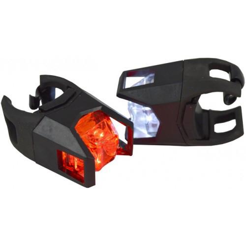 LED подсветка в силиконовом корпусе с защитой для велосипеда