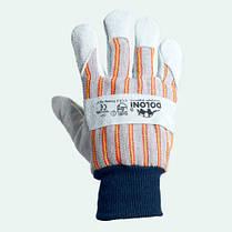 Перчатки DOLONI (4504) комбинированные манжеты-кра