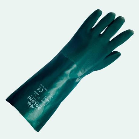 Перчатки DOLONI (4513) двойной облив с подкладкой