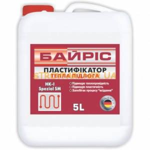 Пластификатор Байрис  5л. тепл.пол