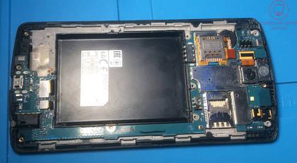 Портфоліо: LG G3s Dual D724 - сильна корозія, заміна дисплейного модуля.