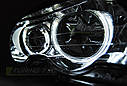 Фари BMW E46 04.99-03.03 COUPE CABRIO ANGEL EYES CHROME CCFL, фото 2