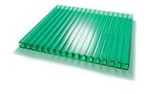 Поликарбонат SUNNEX зелёный 6000х2100х 8мм.