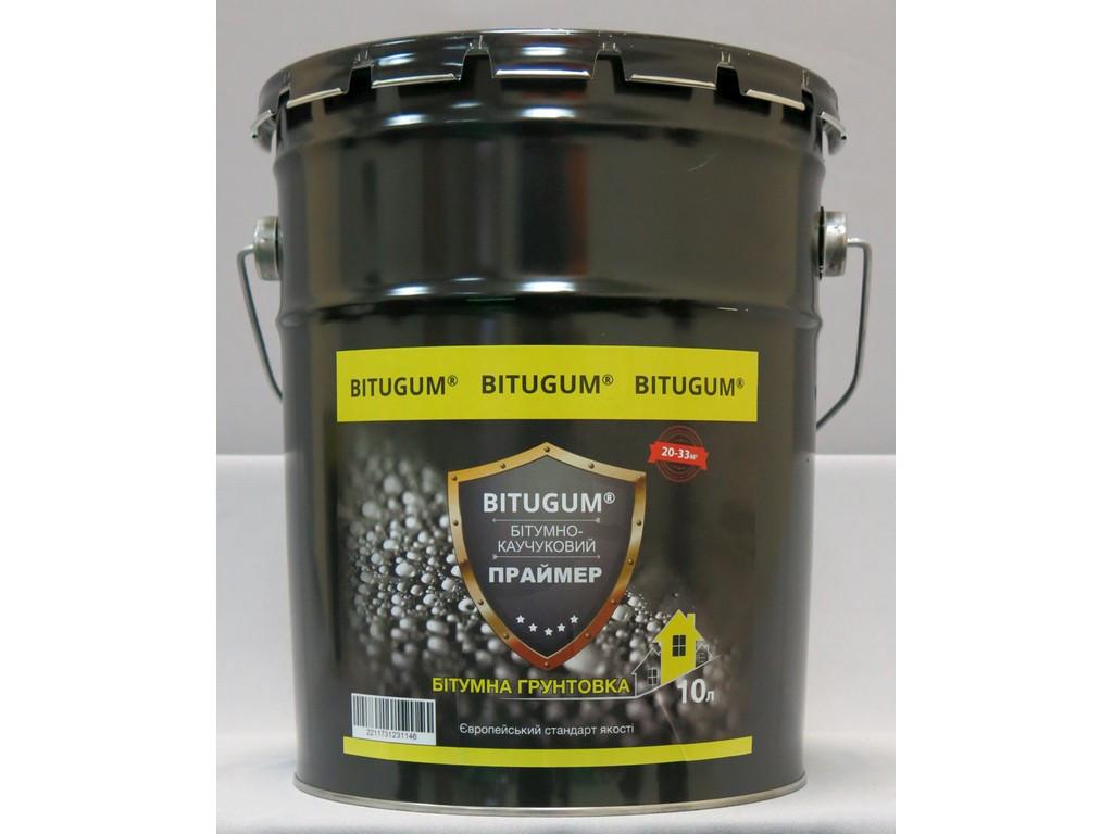 Праймер бітумно-каучуковий/бітумна грунтовка Bitugum  4л.