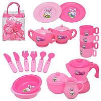 Ігровий набір посуду Чайний сервіз, в сумочці / Посуда Чайный сервиз, в сумочке (игровой набор для девочки)