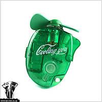 Компактний міні-вентилятор із зволоженням Cooling You / Компактный мини вентилятор с увлажнением на батарейках