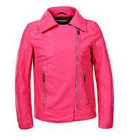 Кожаная куртка для девочек Glo-Story, размеры 134/140-170, арт. GPY-5840