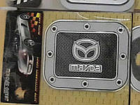 Наклейки на крышку бензобака. Наклейки на бензобак Мазда Mazda