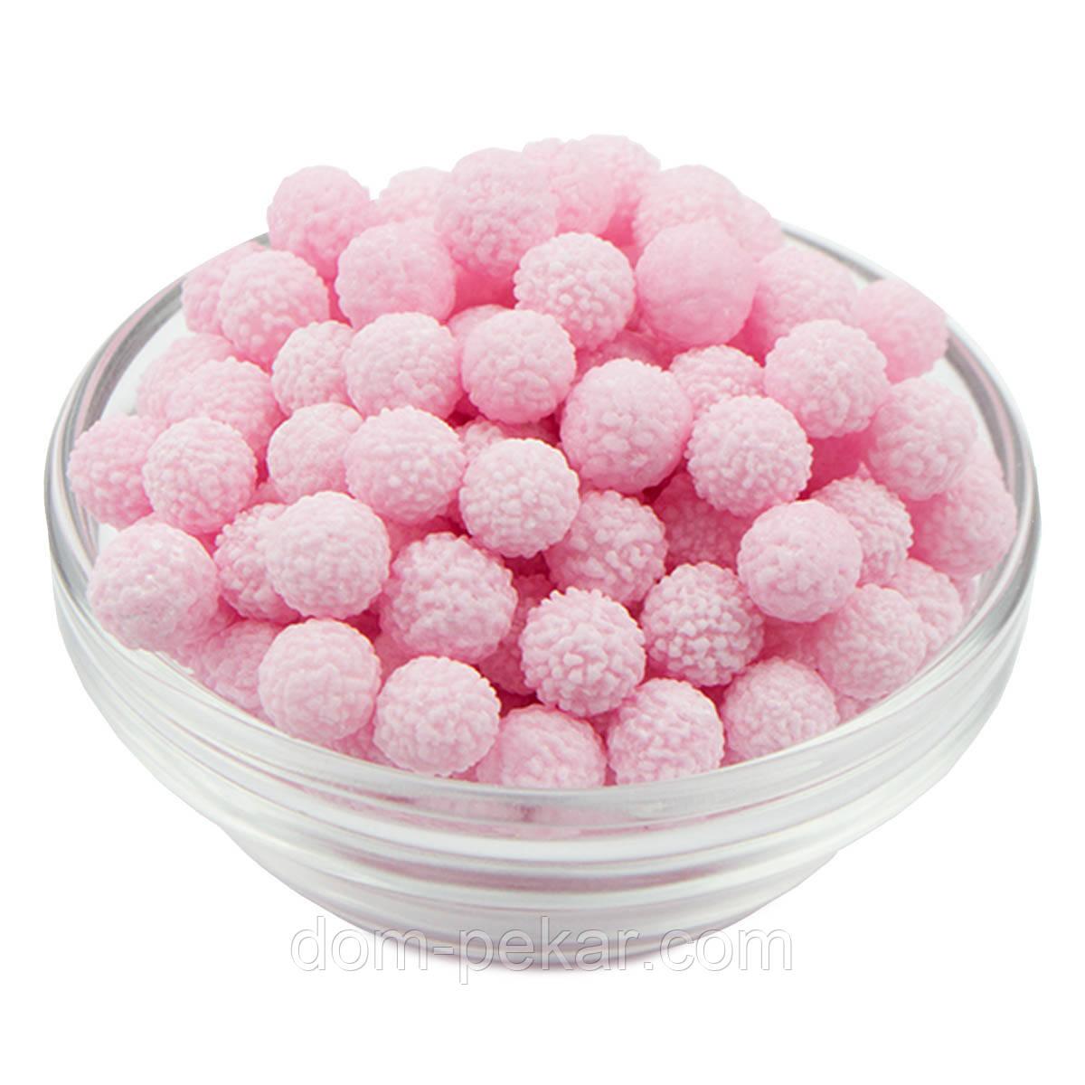 Декор цукровий Мімоза Рожева 7-10 мм (25 гр.)