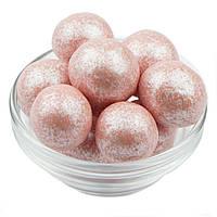 Декор Фундук в белом шоколаде с Розовым шиммером (25 гр.)