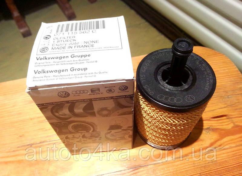 Масляный фильтр VAG 071115562C
