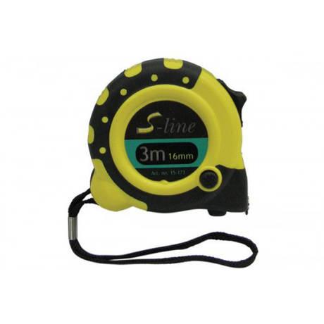 Рулетка c магнитом, 3 функции, 3м/16мм *  Код УКТ