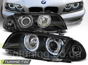 Фары BMW E46 05.98-08.01 S/T ANGEL EYES BLACK