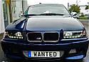 Фары BMW E36 12.90-08.99 DAYLIGHT BLACK, фото 2