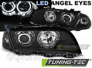 Фари BMW E46 05.98-08.01 S/T ANGEL EYES LED BLACK
