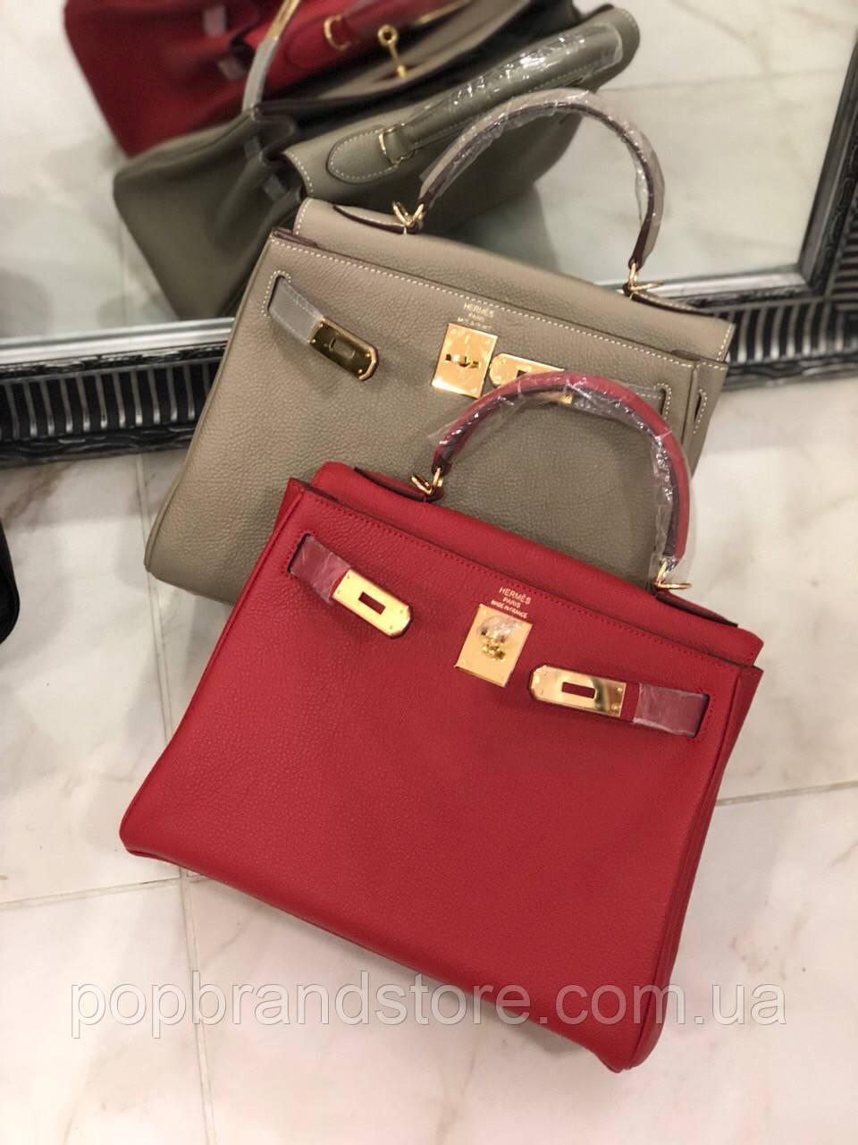 Женская сумка Гермес Келли 28 см натуральная кожа (реплика)  продажа ... 6c0c15403d4