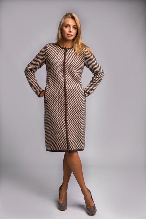 женское теплое и плотное вязаное пальто продажа цена в хмельницком