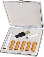 Электронная сигарета  белая  в наборе