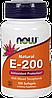 Now Natural E-200 Mixed Tocopherols 100 softgels