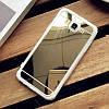 Samsung A500F А5 2015 оригинальный чехол накладка бампер противоударный ХРОМ ЗЕРКАЛЬНЫЙ на телефон , фото 6