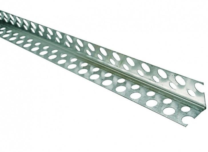 Кут перфорування металевий 2,5 м.