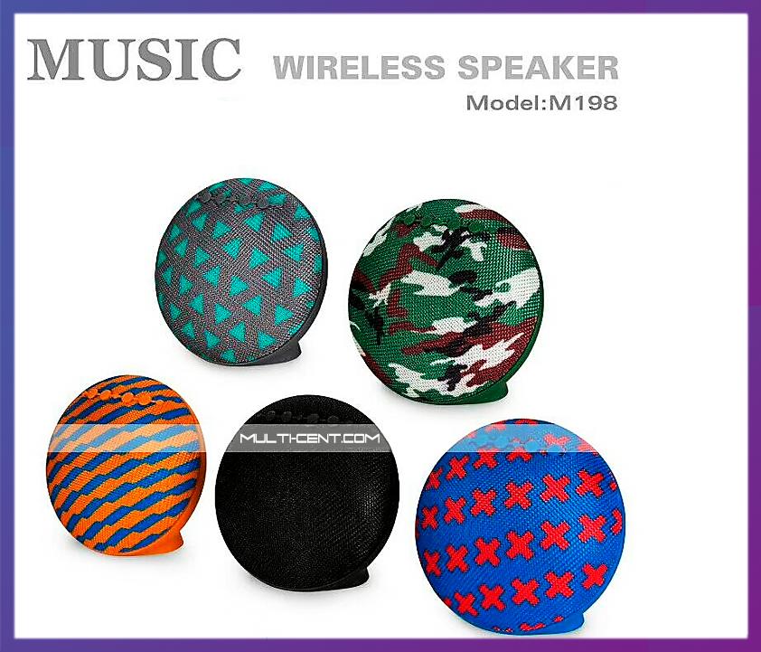 Беспроводная Bluetooth колонка M198 | 3 Вт | Bluetooth 4.1