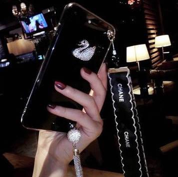 """Samsung NOTE 2 N7100 оригинальный чехол накладка бампер противоударный со стразами камнями """"swarovski copy"""""""