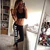 Легінси Work Out для фітнесу, чорні