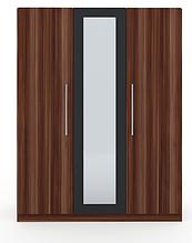 Шафа Martina H 3-х дверна слива венгерська+графіт Blonski