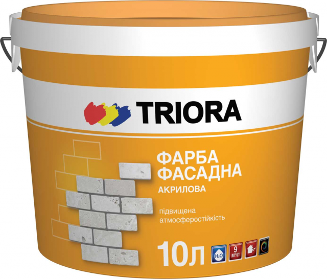 Фарба фасадна 1л TRIORA