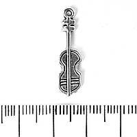 [25/7мм] Фурнитура Подвеска Скрипка