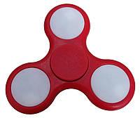 Спиннер антистресс Fidget hand spinner ручной пластиковый фиджет спинер FS2 красный