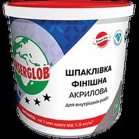 Шпаклевка финишная акриловая (супербелая готовая)  5 кг ANSERGLOB
