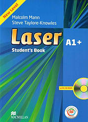 Laser 3rd Edition A1+ Student's Book with CD-ROM with Macmillan Practice Online (Учебник)