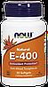 Now Natural E-400 Mixed Tocopherols 50 softgels caps