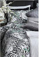 Постельное белье сатин евро Tac Digital VENUS V01 GRI