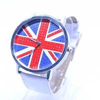 Наручные часы флаг Великобритании Белый