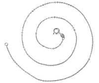 Цепочка (родий) якорное плетение код 44201
