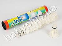Воланчик перо, белый, в колбе (цена за упаковку 12шт)