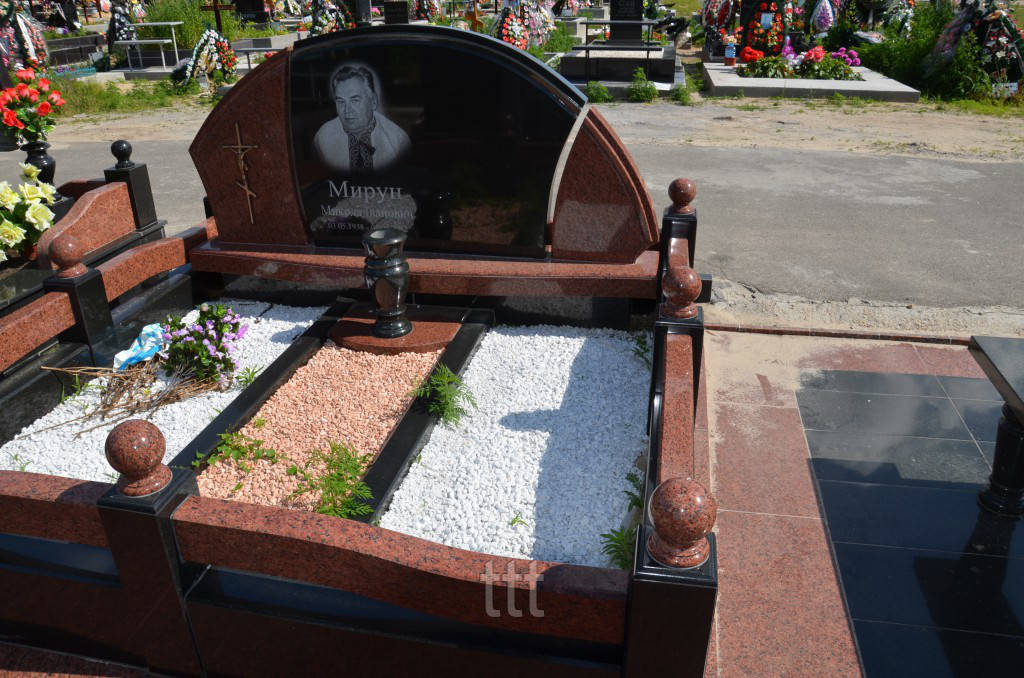Двойное надгробие  № 84