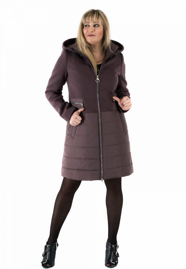 Женское пальто ODRI шоколад ТМ VICCO 44-58 размер - Интернет-магазин одежды