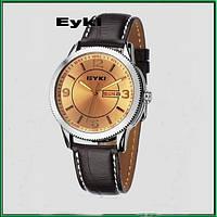 Мужские наручные часы Eyki Date Gold