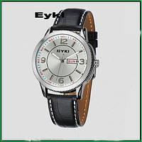 Мужские наручные часы Eyki Date Silver