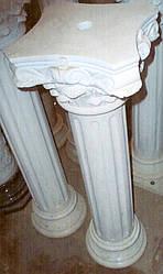 Колонны с капителями из мрамора № 4