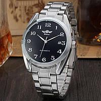 Часы механические наручные Winner steel automatic Black