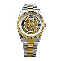 Часы наручные механические Winner Champion metal watch