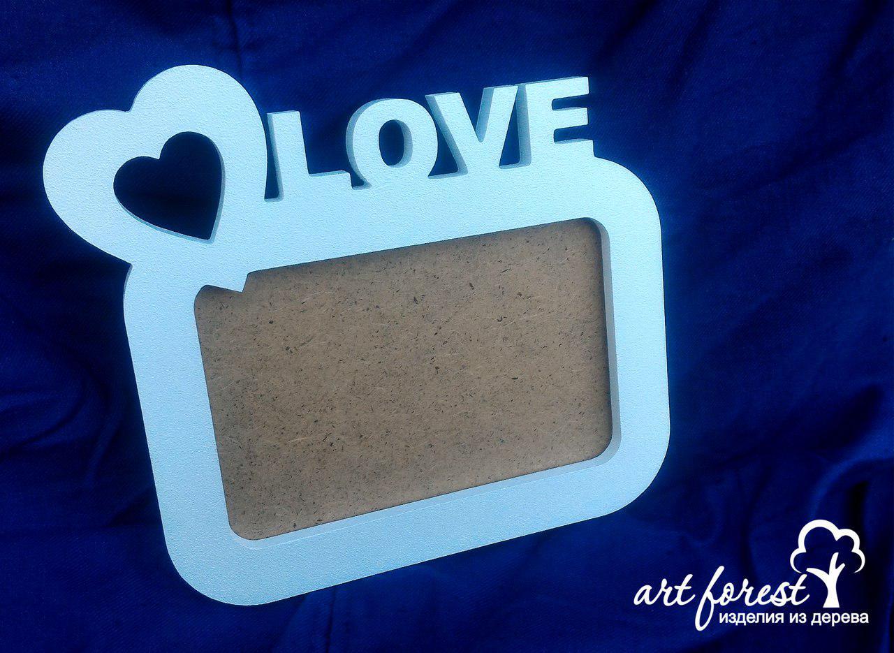 Рамка для фоторафий  10 x 15 см - LOVE