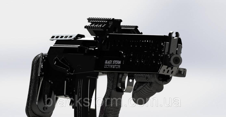 """Bullpup conversion kit for AK-47 AK-74, """"Black Storm BS-4"""", tactical kit AK-47, AKS-74 bullpup for sale"""